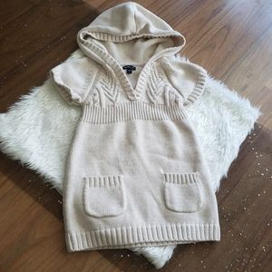 Gap   Cable knit hooded sweater - 2T
